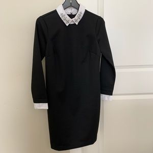 NWT Ann Taylor Black Winter Dress Size SP